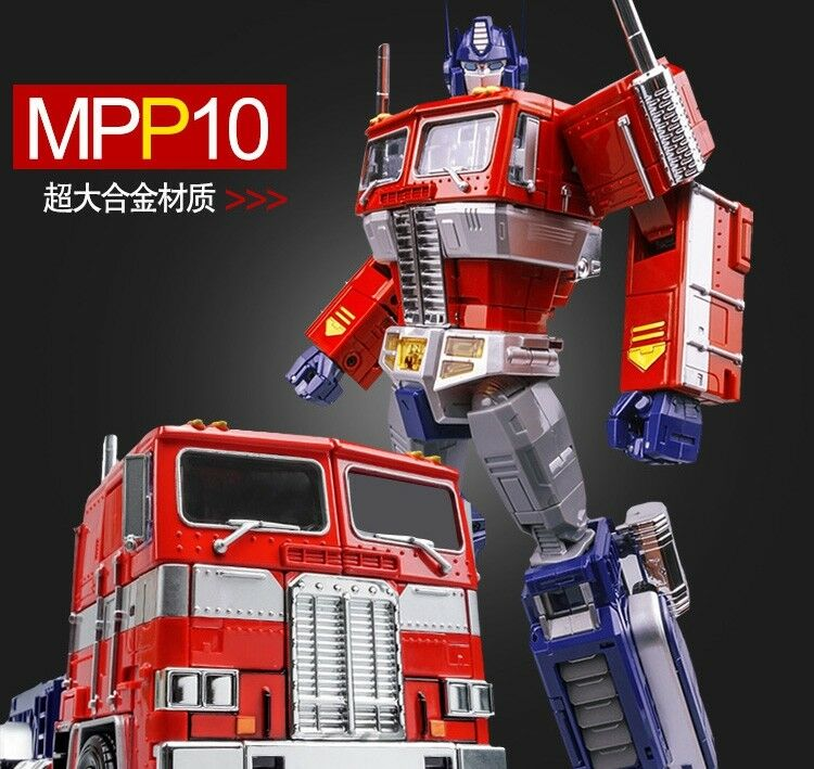 WEI JIANG Transformers Magnified alloy MPP10 Optimus Prime Commander