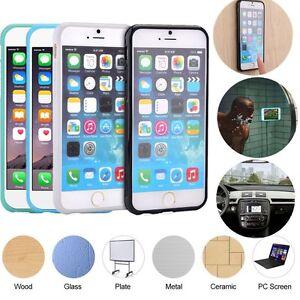 anti gravity nano magic stick selfie phone case cover for iphone 5s 6 6s 7 pl. Black Bedroom Furniture Sets. Home Design Ideas
