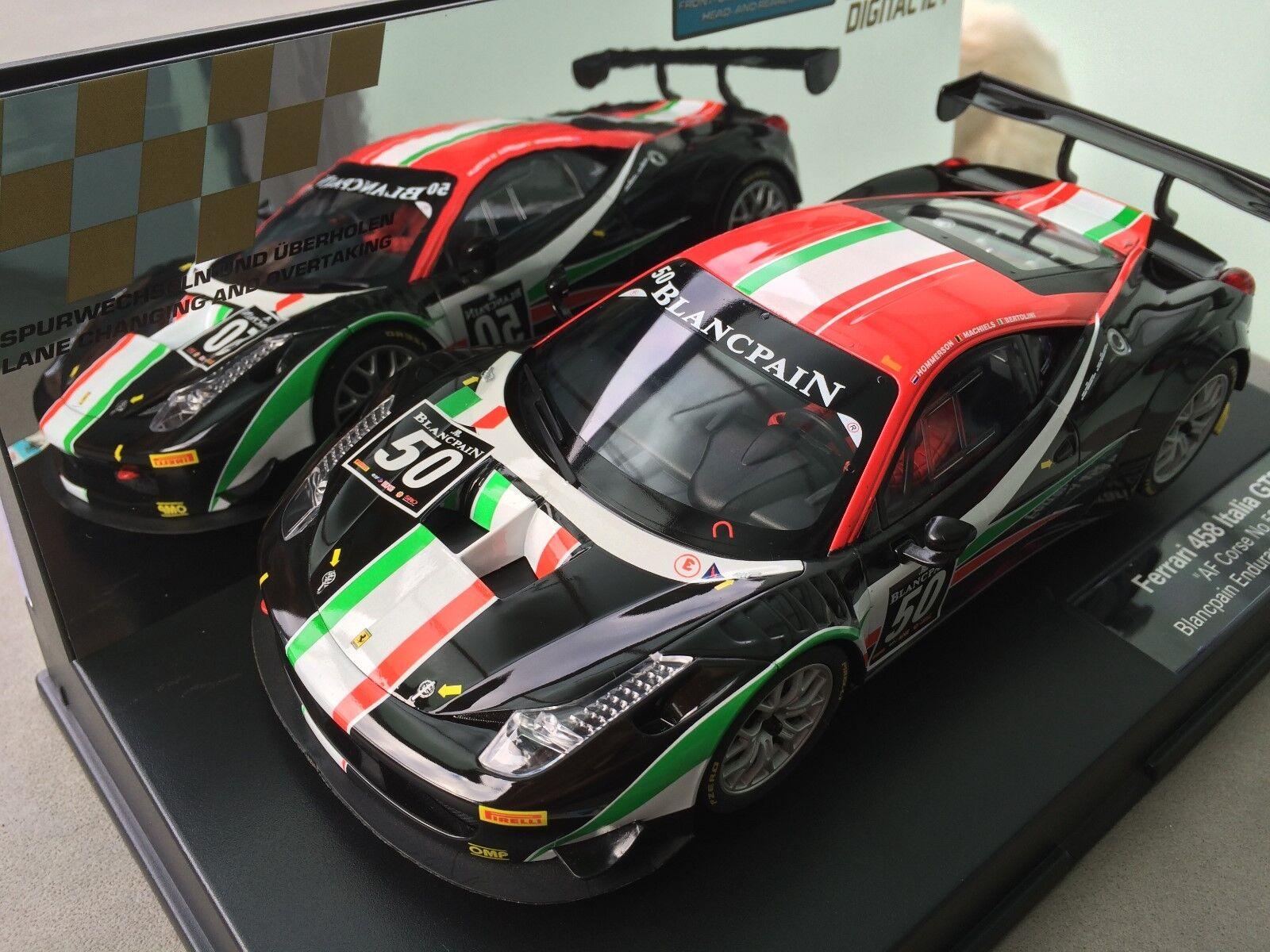 Carrera Digital 124 23805 Ferrari 458 Italia Gt3   Af Corse No. 50 Light New