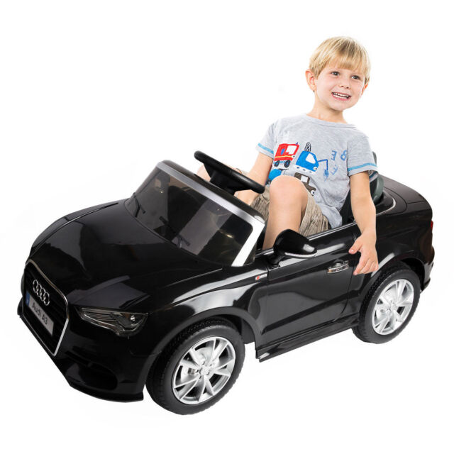 V Official Audi TT RS Licensed Kids Electric Ride On Toy Car - Audi electric toy car