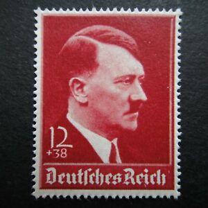 Germany Nazi 1939 Stamp MNH Adolf Hitler Swastika Eagle WWII Third Reich German