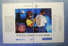 BELLEU994-PUBBLICITA'/ADVERTISING-1994- IRITEL - ITALIA IN DIRETTA