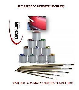 Kit Vernice Ritocco Kkz Rouge Interior 1 Kg + Diluente Trasparente Induritore