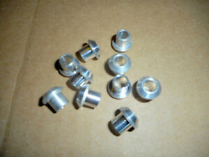 MALE-INSERT-O-RING-TO-MALE-FLARE-A-C-ADAPTER-FITTINGS-6-ALL-ALUMINUM-LOT-OF-10
