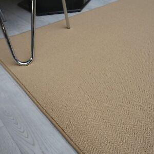 LAINE-TAPIS-034-infloor-fischgraet-sable-034-100x190-cm-TAPIS-NEUF