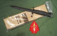 New Old Stock Sealed Package 1984 M7Bayonet Imperial Knife Military 5.56 AR .223