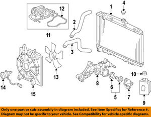 Details about Acura HONDA OEM 09-12 RL-Engine Coolant Thermostat Housing on