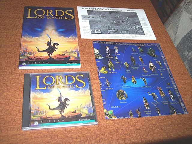 Lords of Magic (PC, 1997) Lords Of Magic Computer Game Impressions Sierra