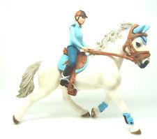 P4) Schleich Turnierreiterin mit Pferd aus Reiter Schleichtiere Schleichtier