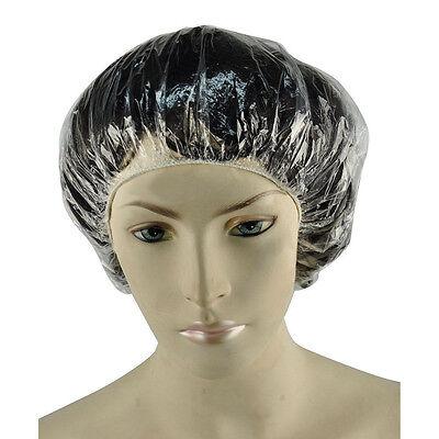 10PC/100PCS Disposable Waterproof Hotel Hair Bathing Shower Cap Caps Hats Travel