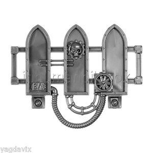 Sem17 Garde Corps Sector Mechanicus Warhammer 40000 Bitz W40k B7 Blanc Pur Et Translucide