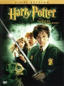 DVD-Harry-Potter-Und-die-Kammer-des-Schreckens-Doppel-DVD-J-K-Rowling-Neu
