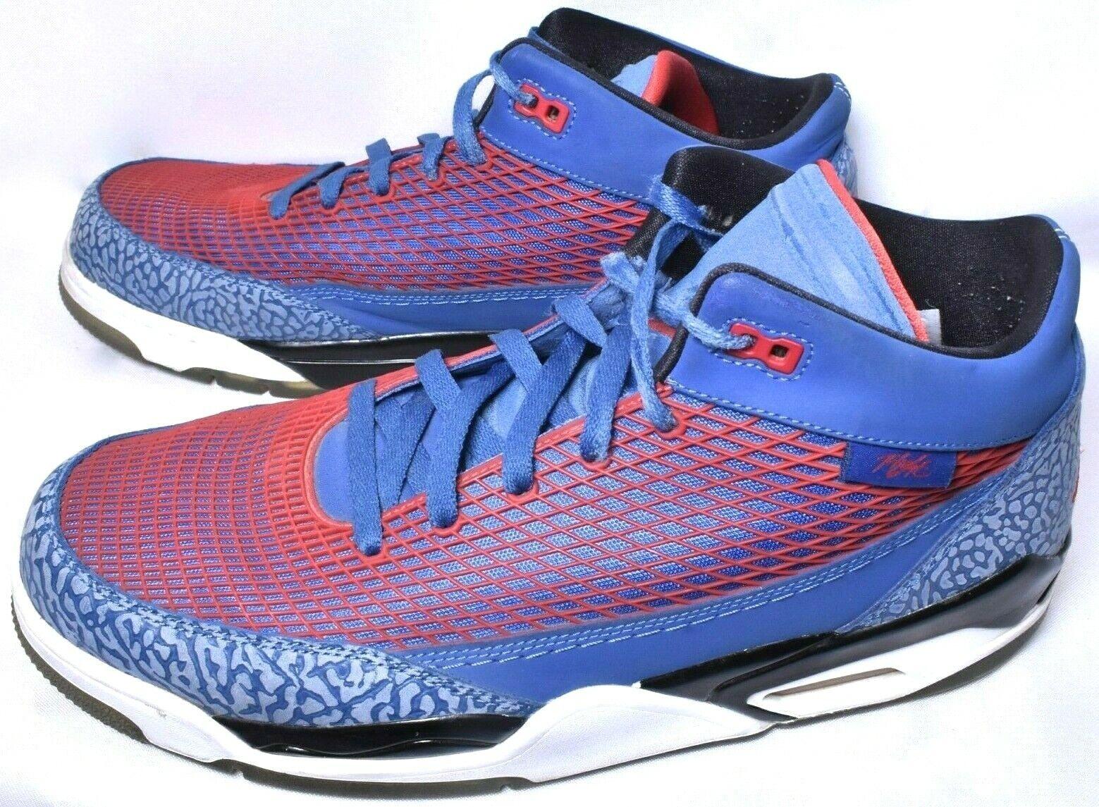 NIKE AIR JORDAN Flight Club 80 Sneakers shoes (Size 13) bluee Red  Pre-Owned