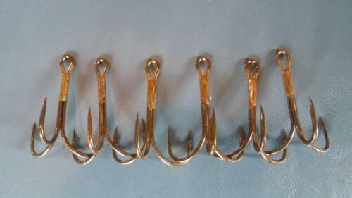 7//0 Treble Hooks Lot of 6 Hooks