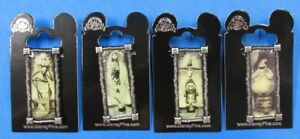 Disney-Pin-NBC-Nightmare-Haunted-Mansion-Stretching-Portrait-Complete-Set-of-4
