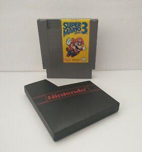Super Mario Bros. 3 Nintendo Entertainment System 1990 NES Authentic Cart Tested