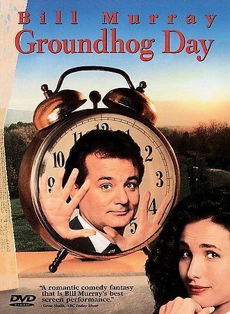 Groundhog Day DVD, 1998, Closed Caption Subtitled In French And Spanish  - $4.99