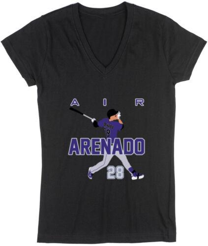 "Nolan Arenado Colorado Rockies /""Air Pic/"" Jersey Shirt TANK-TOP"