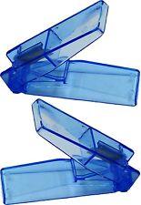 2 x BLUE PILL TABLET CUTTER SPLITTER DIVIDE MEDICINE CUT DOSE COMPARTMENT BOX