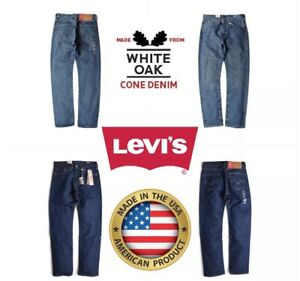 NEW-PREMIUM-MENS-LEVIS-505-REGULAR-FIT-MADE-IN-USA-STONEWASH-BLUE-ALL-SIZES