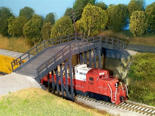 RURAL TIMBER OVERPASS Kit HO Scale 628-0200 RIX PRODUCTS