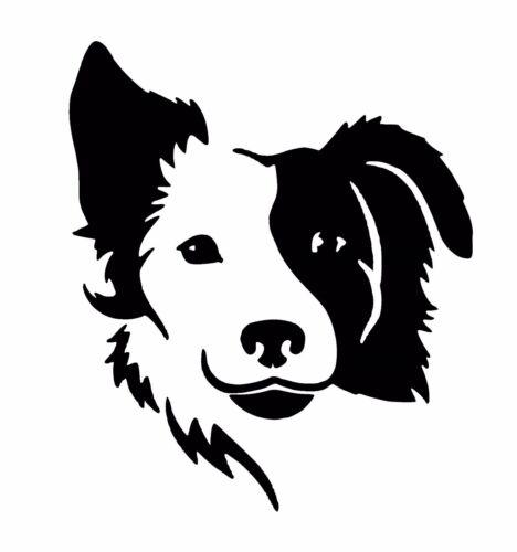 Collie Dog vinyl Decal Sticker