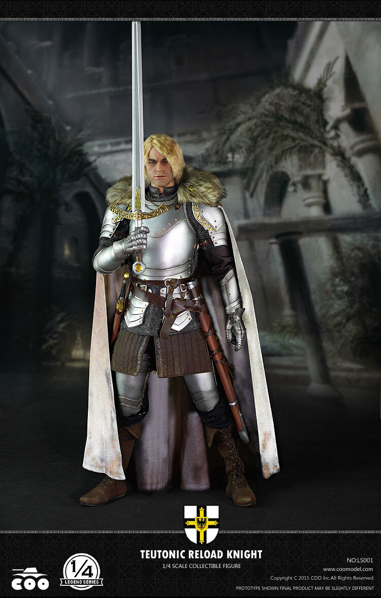 COOMODEL LEGEND SERIES - TEUTONIC RELOAD KNIGHT 1 4 Figure