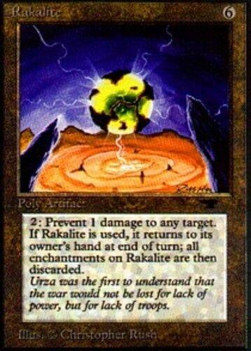 1x Rakalite MTG Antiquities NM Magic Regular