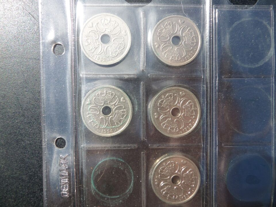 Danmark, mønter, 2 KR.
