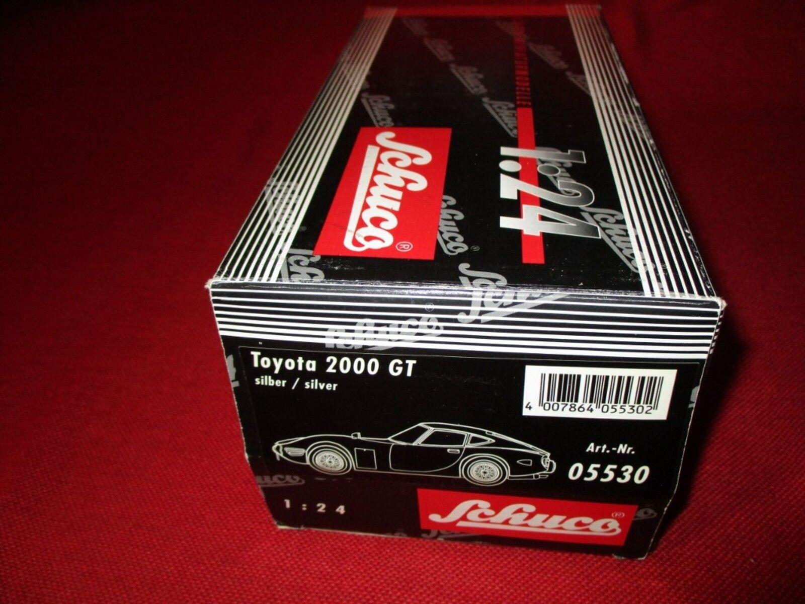 Schuco ® 05530 1 24 TOYOTA 2000 GT Neuf neuf dans sa boîte