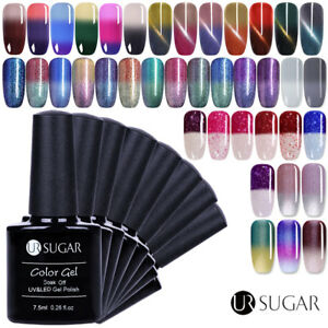 7.5ml Térmico Esmalte de Uña de Gel UV LED Semipermanente Soak off Manicura DIY