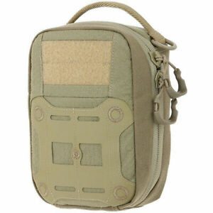 Maxpedition-FRP-First-Response-Pouch-Tactical-Survival-Medic-Gear-EDC-Pack-TAN
