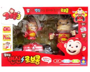 Cocomong hablando transformación Robocong con cocomong con figuras de juguete de Corea