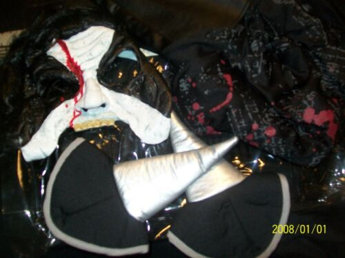 XL 14-16 Punk-Metal-Rock Band-Boys NEW Rot /'N Rockers COSTUME Halloween M 7-8