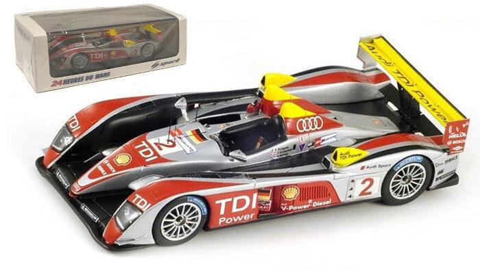 ¡envío gratis! Spark 43LM08 AUDI R10 TDI TDI TDI  2 Le Mans Winner 2008-escala 1 43  mas preferencial