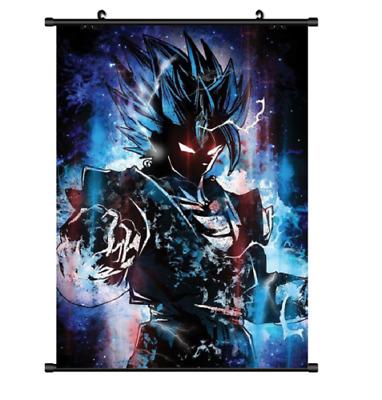 Hot Anime Dragon Ball Z Vegeta Home Decor Poster Wall Scroll free shippin60*90cm