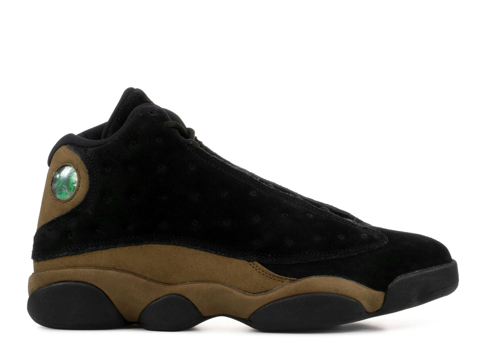 SALE Nike Air Jordan 13 XIII Retro Olive 2018 414571-006 Black Gym Red The latest discount shoes for men and women