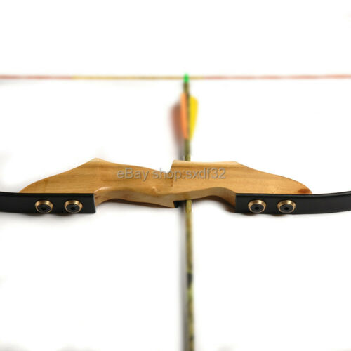 Mongolia Recurve Bow Riser Wooden Handle DIY Bow Accessory Suit Left Right Hand