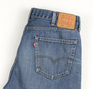 Levi's Strauss & Co Hommes 505 Jeans Jambe Droite Taille W38 L34 BDZ879