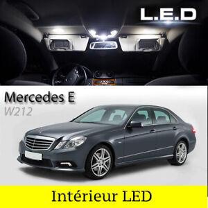 LED-iluminacion-interior-iluminacion-set-19-LED-bombillas-para-mercedes-e-w212