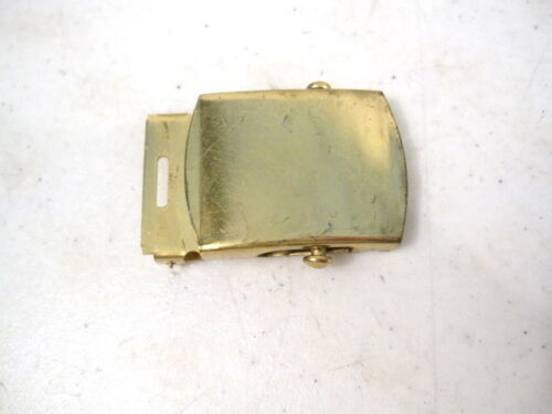 WWII US Army Officer/'s Waist Belt Brass Buckle Unissued New Old Stock