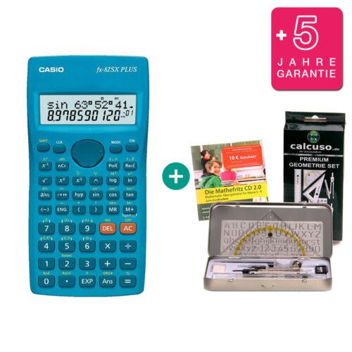 Warranty Geometry Set Learning CD German Casio FX 82 SX PLUS Calculator