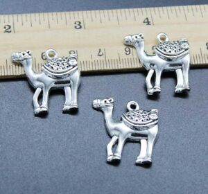 3~20pcs Sightseeing Camel Alloy Charms Pendant Jewelry Making DIY 24*24mm