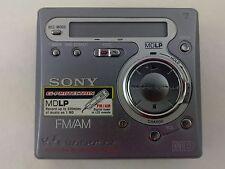 Sony MZ-G750 Recording MD Walkman Personal Minidisc Player Recorder MDLP