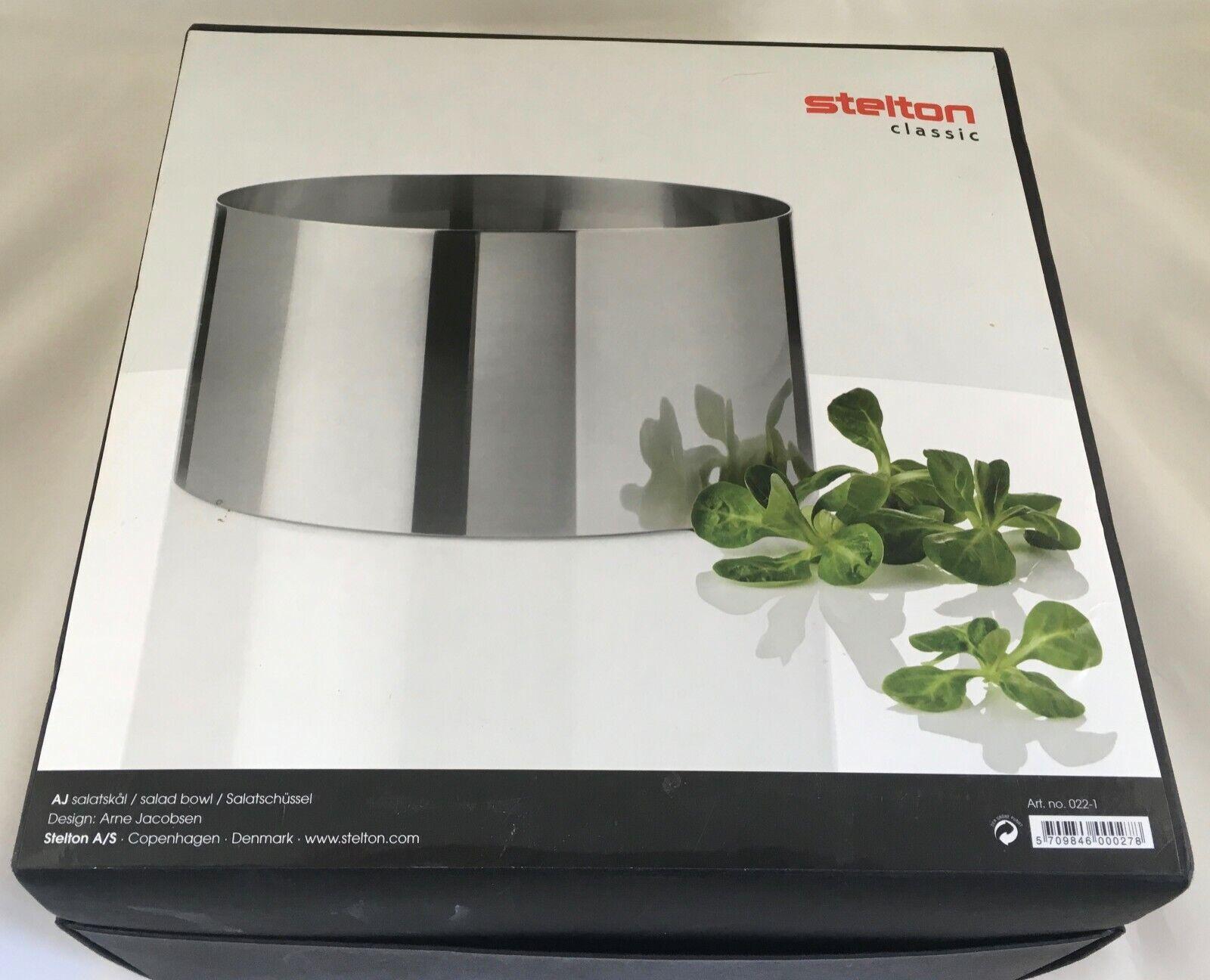 Cylinda-ligne par Arne Jacobsen pour STELTON Saladier NEW IN BOX