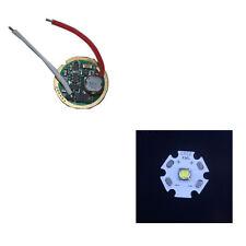 1 Mode 3V-18V Flashlight Driver Circuit Board + 1pcs 20MM Cree XM-L T6 LED Chip