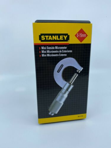 STANLEY MINI OUTSIDE MICROMETER 0-15MM 95-516