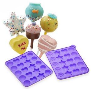NEW! CAKE POPS INSTANT SILICONE BAKING PAN SET - BAKE ...