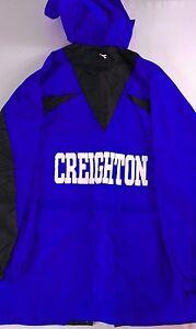 Creighton-Bluejays-Soccer-Windbreaker-Jacket-Mens-XL-Mesh-Lined-Tall-Long-Rain