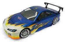 RC 1/10 Car 190mm East Coast Lexan Body Shell Concept D S15 fit Tamiya HPI Drift